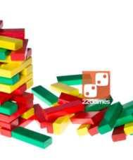 Башня цветная с кубиком
