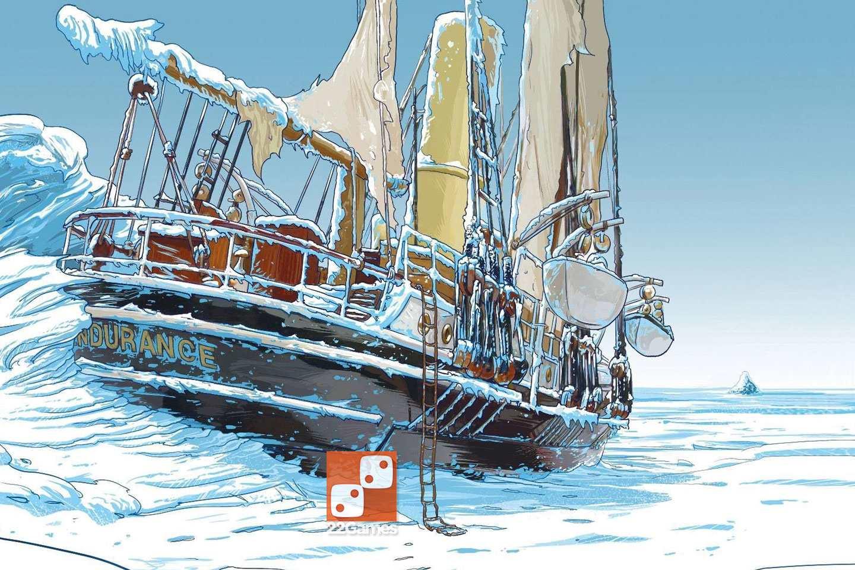 Агентство Время Тайна Эндьюранса T.I.M.E Stories Expedition Endurance