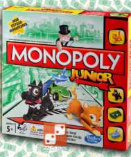 Моя первая Монополия Junior My First Monopoly