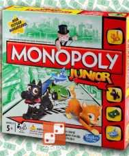 Моя первая Монополия Junior My First Monopoly