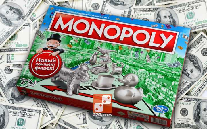 Классическая Монополия с уточкой