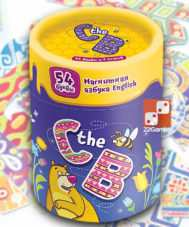 Магнитная азбука на английском «C the B»