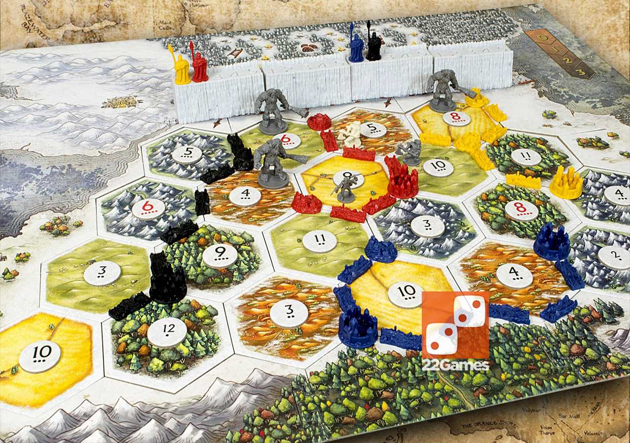 Catan Игра Престолов Catan Game of Thrones