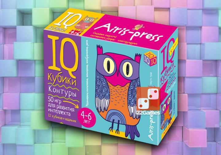 IQ-кубики. Контуры