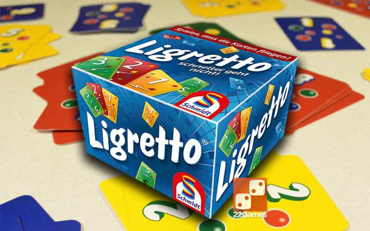 Ligretto Blue. Лигретто Синяя