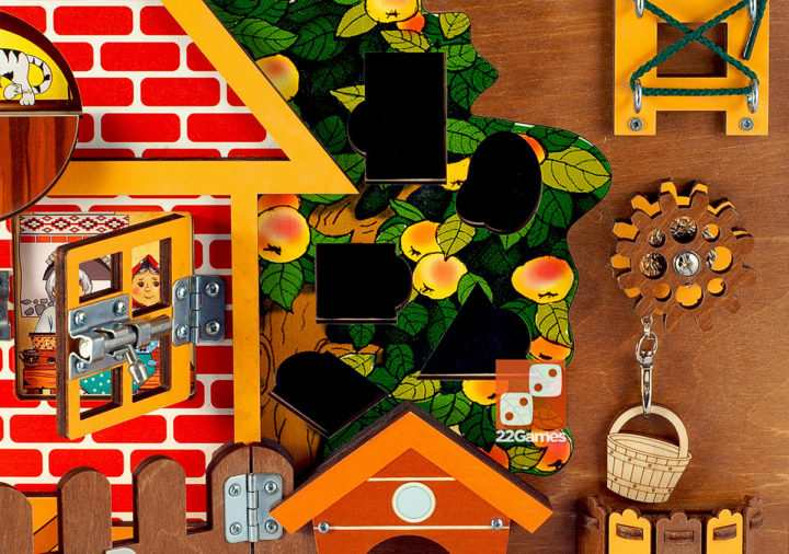 Бизиборд «Загородный дом»
