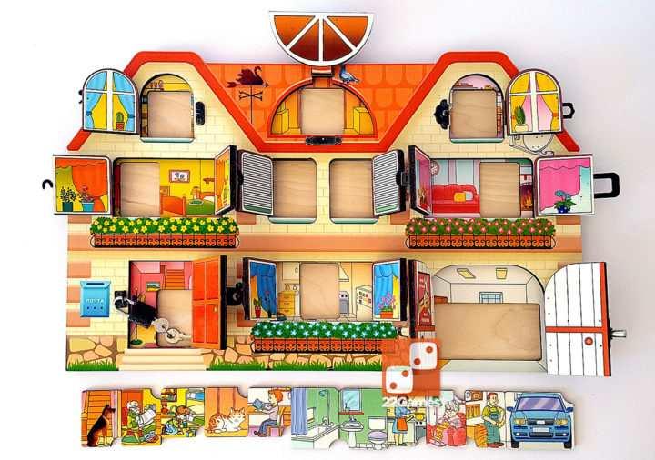 Бизиборд «Дом, в котором мы живем»