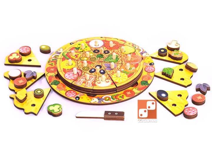 Развивающая игра «Пицца»