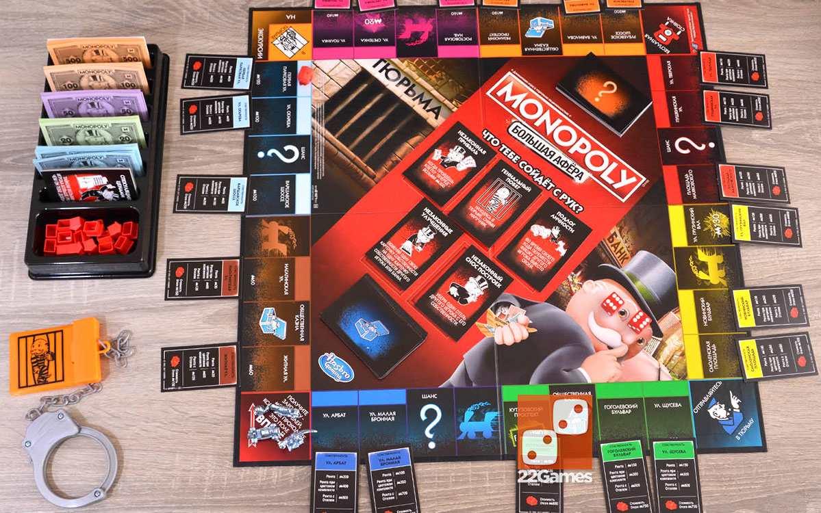 Монополия Большая Афера. Monopoly Big Cheaters Edition