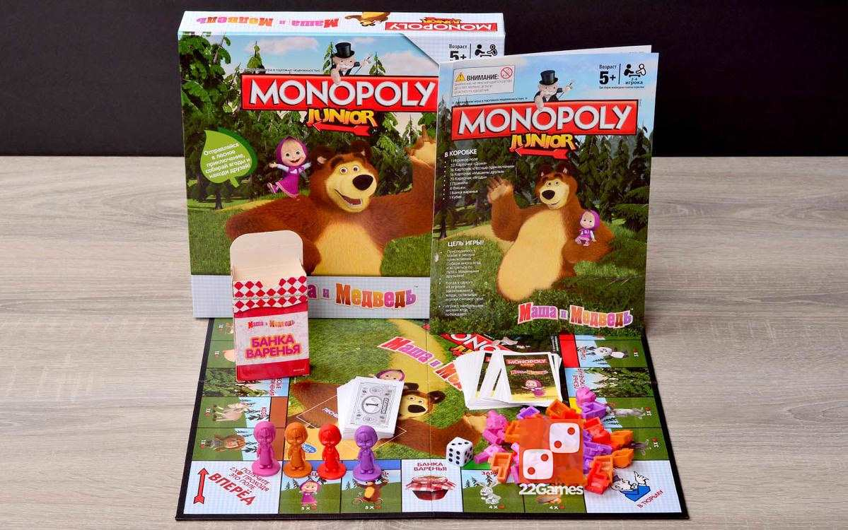 Монополия Маша и Медведь
