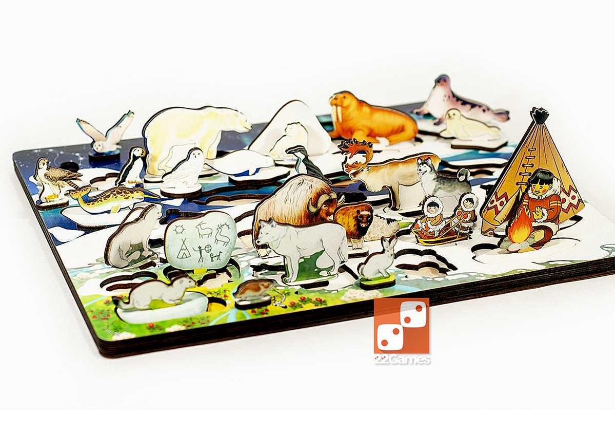 Развивающая 3D доска «Арктика. Под Большой Медведицей»