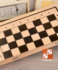 Нарды, шашки, шахматы (набор 3 в 1)