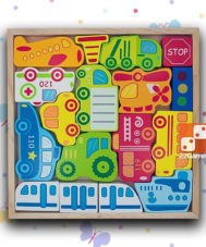 Пазл-головоломка «Транспорт»