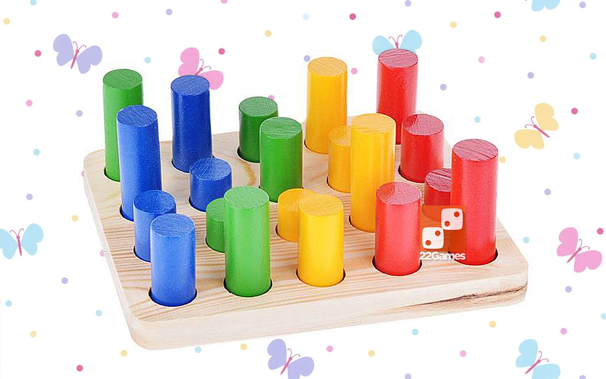 Развивающая игрушка «Цилиндры»