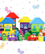 Конструктор «Цветной городок» (41 деталь)