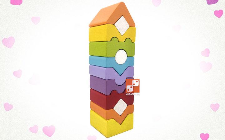 Деревянный конструктор «Логическая Башня» № 11