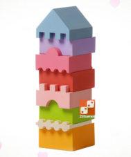 Деревянный конструктор «Башня» № 4