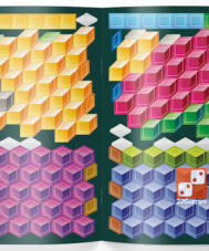 Тетрадь «Реши-пиши. Кубометрия 3D, 8+ лет»