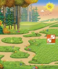 Игра с волшебными наклейками «Три поросенка»