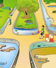 Игра с волшебными наклейками «Зоопарк»