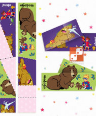 Сгибалки «Супергерои», 6-7 лет