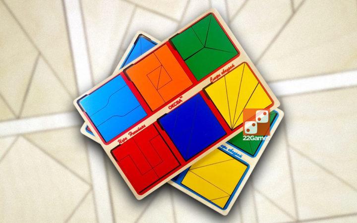 Сложи квадрат, 2 уровень сложности