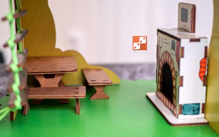 Театр на столе: мир сказок «Дом лесовичка»
