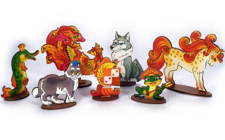 Театр на столе: мир сказок «Сказочные животные»