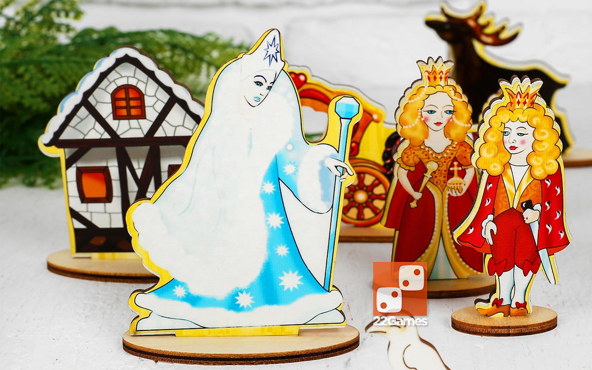 Театр на столе: Снежная королева