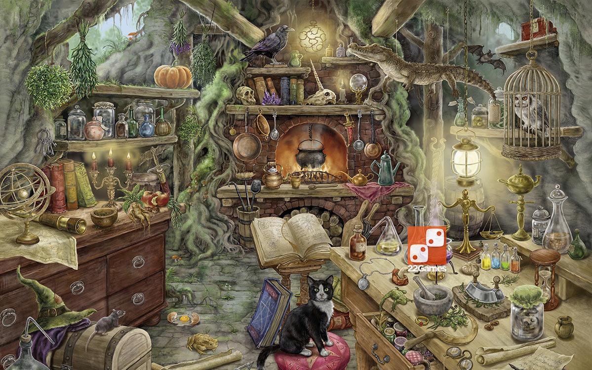 Пазл-квест Ravensburger «Кухня ведьм»