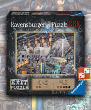 Пазл-квест Ravensburger «Фабрика игрушек»