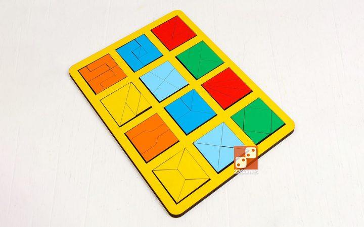 Сложи квадрат, 2 уровень сложности (макси)