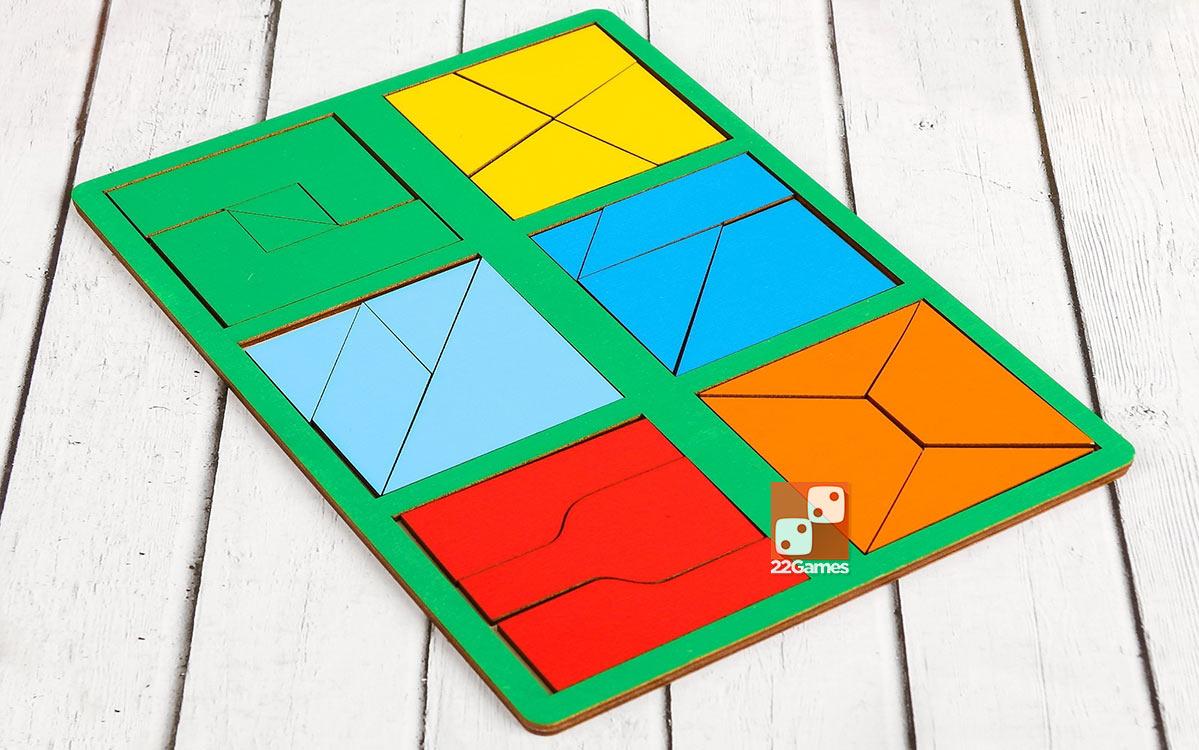 Сложи квадрат, 2 уровень сложности (мини)