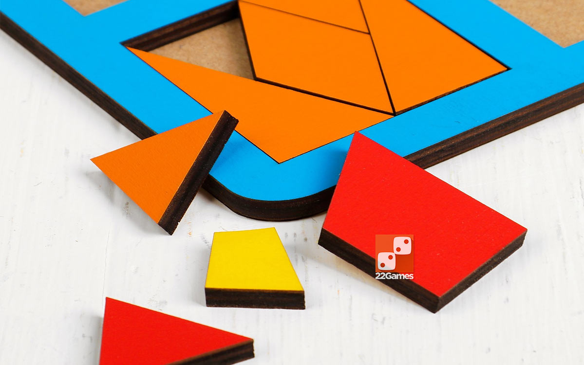 Сложи квадрат, 3 уровень сложности (макси)