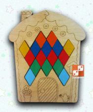 Мозаика «Домик»