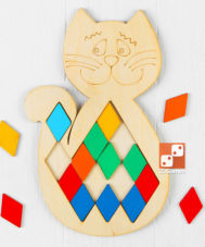 Мозаика «Котик»