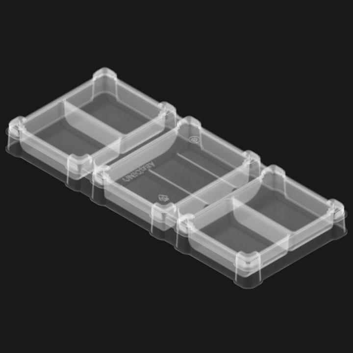 UniqTray UTS Organiser (7 секций) (прозрачный)