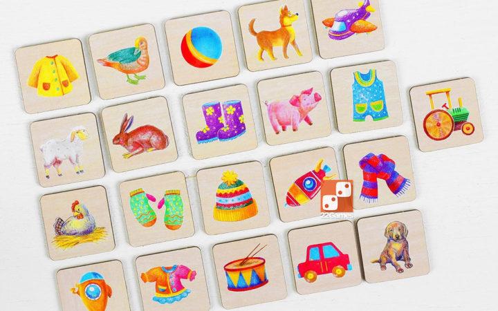 Волшебный комодик-сортер «Животные, игрушки, одежда»