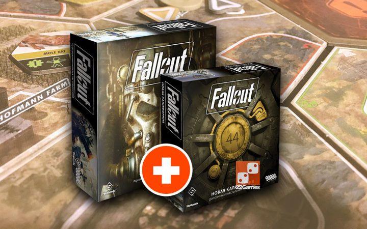 Fallout + Новая Калифорния (набор)