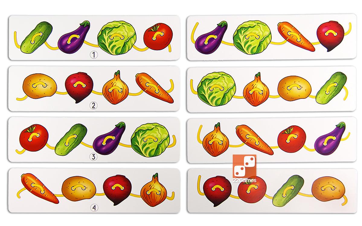 Шнуровка «Овощи» (планшет)